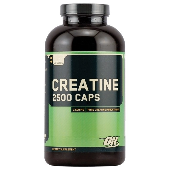 Optimum Nutrition Creatine 2500 Caps (200) ON