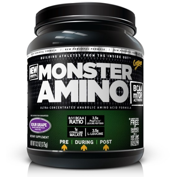 Cytosport Monster Amino BCAA (375 g.)