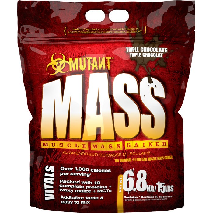 FitFoods Mutant Mass (15 lb, 6800 g.)